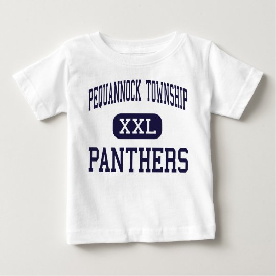 Pequannock Township - Panthers - Pompton Plains Baby T-Shirt
