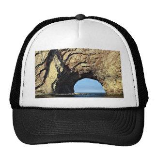 Perce Rock, Gaspe, Quebec, Canada rock formation Trucker Hats