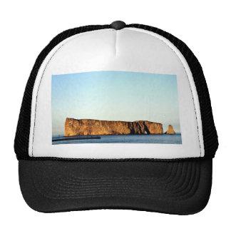Perce Rock, Gaspe, Quebec, Canada rock formation Mesh Hats