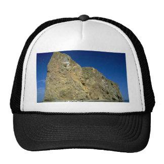 Perce Rock, Gaspe, Quebec, Canada rock formation Hat