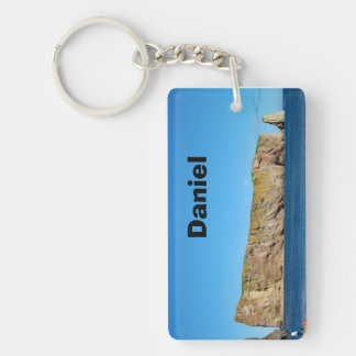 Percé Rock in the Gulf of the St. Lawrence Key Ring