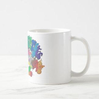 Percentum Levitating Basic White Mug