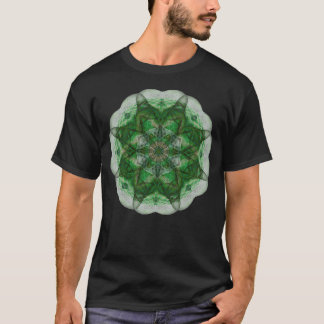 Perception Mandala (green) T-Shirt