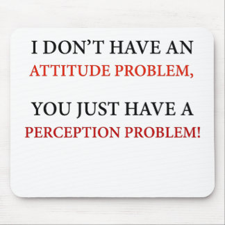 Perception Problem Mouse Pad
