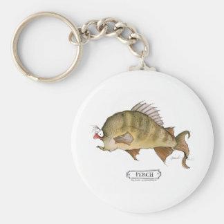 Perch fish, tony fernandes keychains