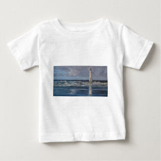 Perch Rock Lighthouse Baby T-Shirt