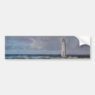 Perch Rock Lighthouse Bumper Sticker