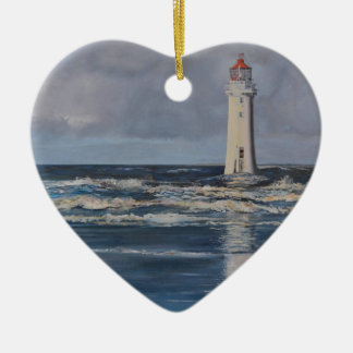Perch Rock Lighthouse Christmas Ornament
