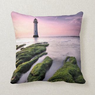 Perch Rock Lighthouse Cushion