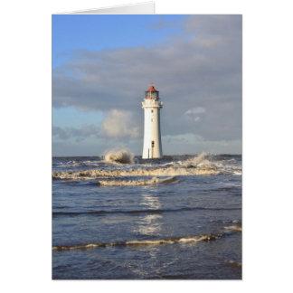 Perch Rock Lighthouse, New Brighton Card