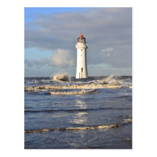 Perch Rock Lighthouse, New Brighton Postcard