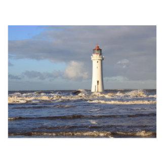 Perch Rock Lighthouse, New Brighton Postcard