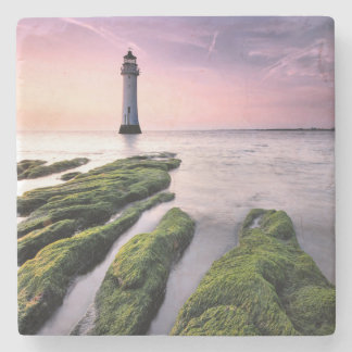 Perch Rock Lighthouse Stone Coaster