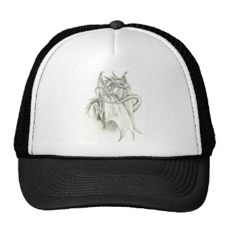 perched dragon trucker hat