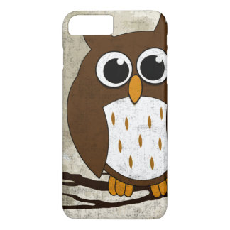 Perched Owl iPhone 8 Plus/7 Plus Case