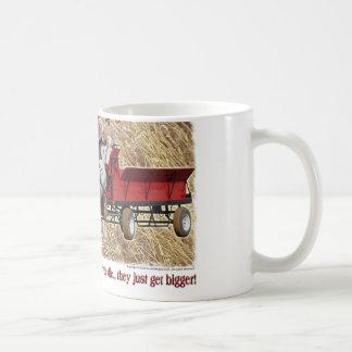 Percheron Draft Horse Farm Wagon Buckboard Coffee Mug