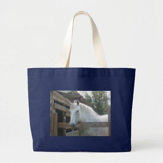 Percheron Draught   Mare Large Tote Bag