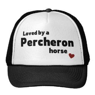 Percheron horse cap