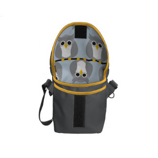 Perching Owls Courier Bags