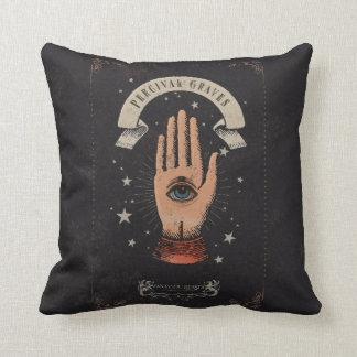 Percival Graves Magic Hand Graphic Cushion