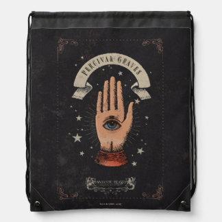 Percival Graves Magic Hand Graphic Drawstring Bag