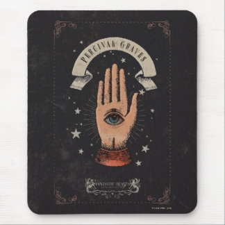 Percival Graves Magic Hand Graphic Mouse Mat