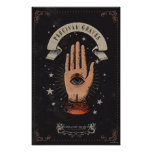 Percival Graves Magic Hand Graphic Poster