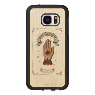 Percival Graves Magic Hand Graphic Wood Samsung Galaxy S7 Case