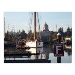 Percival Landing Postcard, Olympia, Washington.