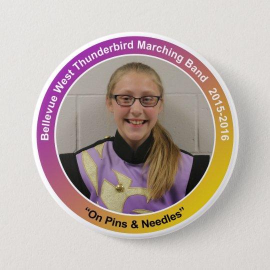 percussion_AnnaG 7.5 Cm Round Badge