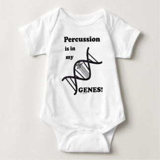 Percussion Is In My Genes T Shirts