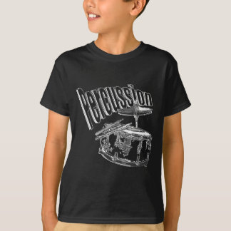 Percussion/ Silver T-Shirt