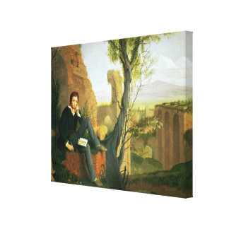 Percy Bysshe Shelley  1845 Canvas Prints
