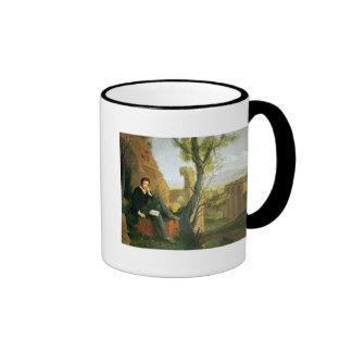 Percy Bysshe Shelley  1845 Ringer Mug