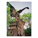 Pere la Chaise Angel Greeting Card