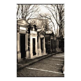 pere lachaise, Paris Stationery