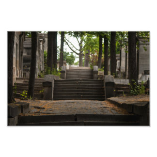 Père Lachaise Stairway Photo Art