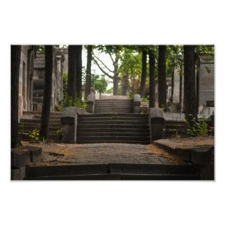 Père Lachaise Stairway Photo Art