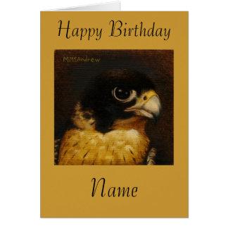 Peregrine Falcon Note Card