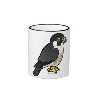 Peregrine Falcon Ringer Coffee Mug