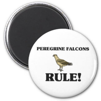 PEREGRINE FALCONS Rule! Magnet