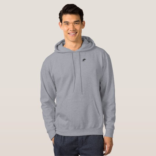 Peregrine Hawk Men's Basic Hooded Sweatshirt