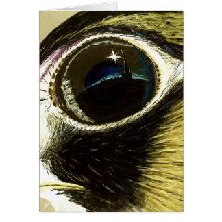 Peregrine's Eye blank Card