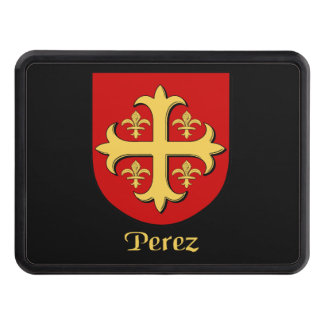 Perez Family Shield Tow Hitch Covers
