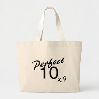 Perfect 10 x9 jumbo tote bag