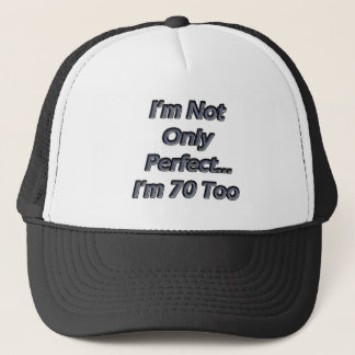 Perfect 70 trucker hat