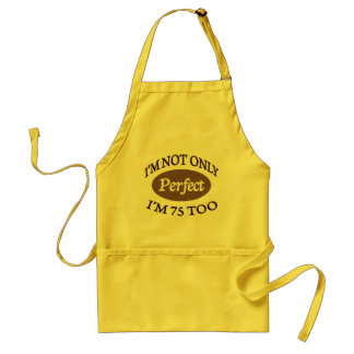 Perfect 75 Year Old Standard Apron