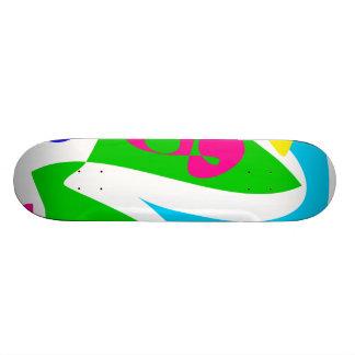 Perfect Abstract Balance Skate Board