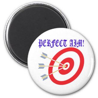 Perfect Aim 2 Fridge Magnet