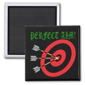 Perfect Aim 3 Fridge Magnets